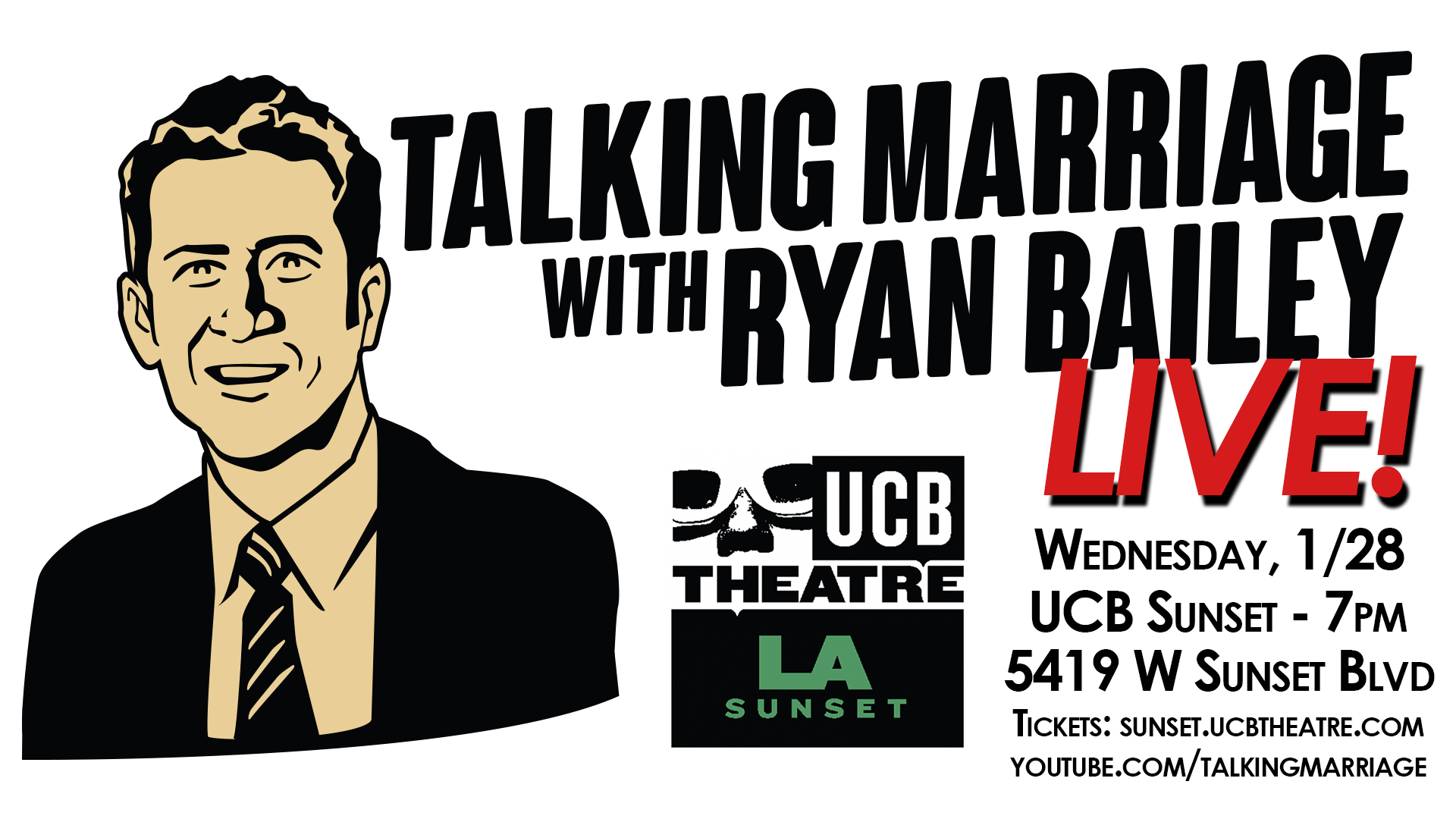 Talking Marriage Live Banner